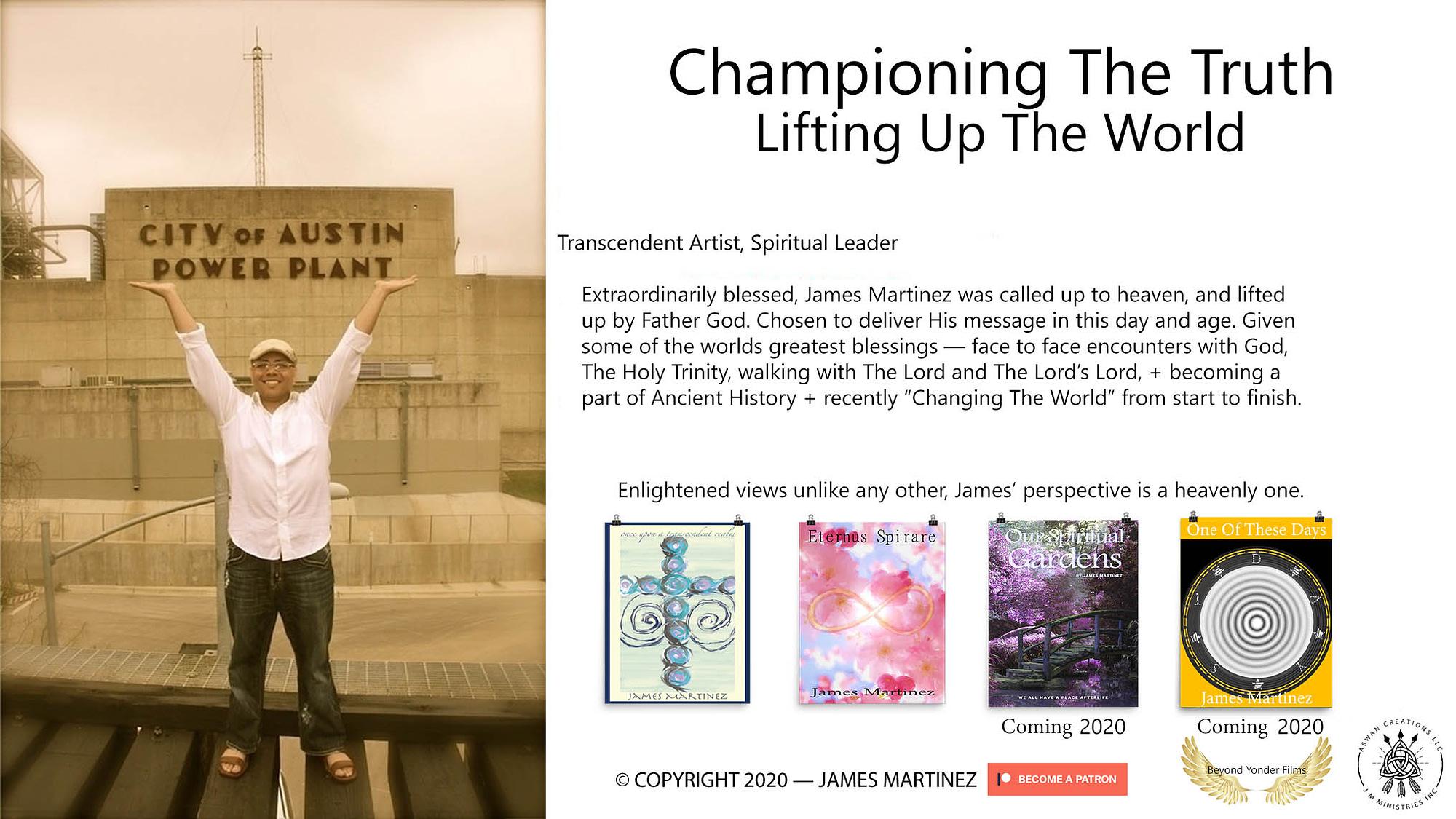 Writing Intro - Books On The Way - James Martinez